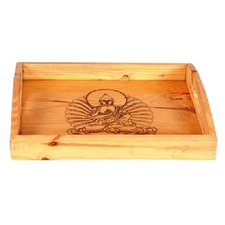 Designer Hand Carved Wooden Tray