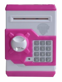 MONEY SAFE ATM machine Piggy bank toy for kids open with secret code