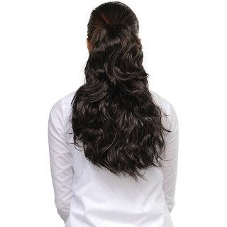 shanaya Natural Brown 18 inches Designer Hair Extension  00484