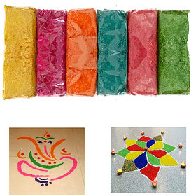Rangoli Colours - Wooden