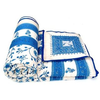 Marwal Jaipuri Double Bed Cotton Razai / Quilt
