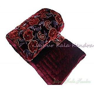 Marwal Jaipuri Valvet Double Bed Razai Rajasthani Quilt Blanket Gift Winter Gift
