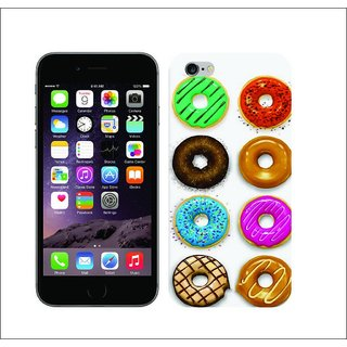 Printed Multi-Coloured Doughnuts Box Hard Cover For   6