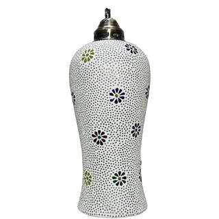 Beadworks Mosaic Glass Hanging Lamp