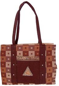Womaniya Multicolour Handcrafted Shoulder Bag