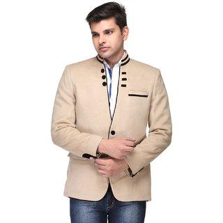 Platinum Studio Stylish Blazer For Mens - Beige Buy Platinum Studio Stylish Blazer For Mens ...