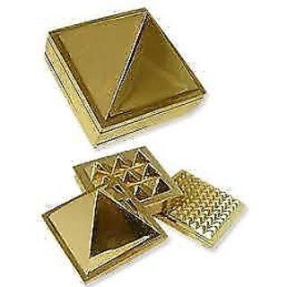 Brass Multi layer Vastu Pyramid Closed Set