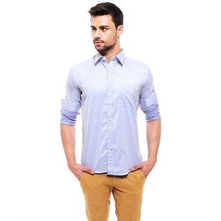 Jermyn Crest- Rich Cotton Sky blue Formal Shirt