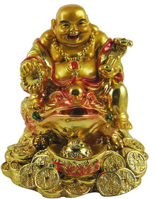 Vastu / feng shui / Golden Laughing Buddha on feng shui Money Frog