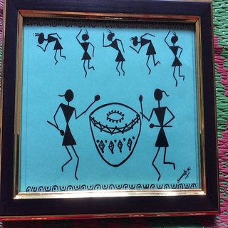 Warli paintings frames