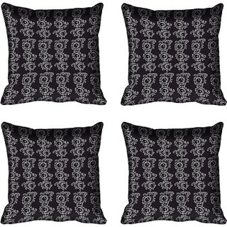 meSleep Ethnic Digital Printed Cushion Cover 16x16