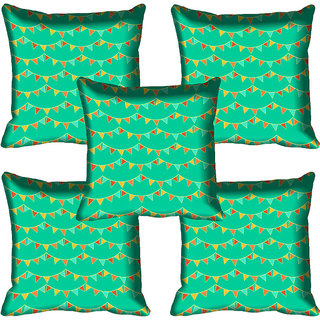meSleep Abstract Digital Printed Cushion Cover 16x16