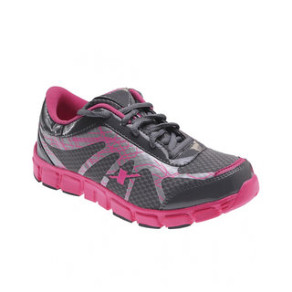 Sparx SM-071 Grey Pink Women Sports Shoes