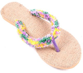 Forever Living Women's Multicolor Flats