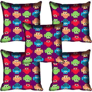 meSleep Owl Digital Printed Cushion Cover 16x16