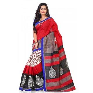 Florence Multi Color Bhagalpuri Silk Saree (FL-10649)