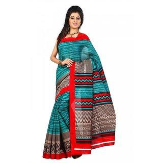 Florence Multi Color Bhagalpuri Silk Saree (FL-10654)