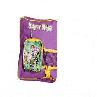 Akash Ganga Pink Ben 10 Super Hero School Bag for Kids (SB32)