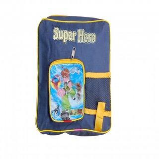 Akash Ganga Blue Ben10 Super Hero School Bag (SB35)
