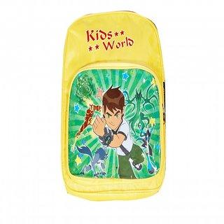 Akash Ganga Yellow Kids World School Bag (SB38)