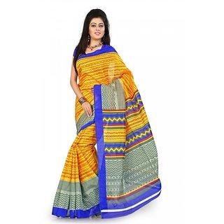 Florence Multi Color Bhagalpuri Silk Saree (FL-10655)