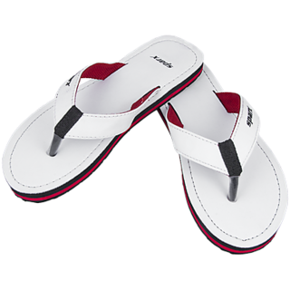 Sparx White Color Slippers at Best
