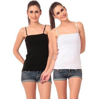 Combo - Black/White Camisole Top