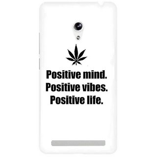 The Fappy Store  Positive-Minds Hard Plastic Back Case Cover For Asus Zenfone 5
