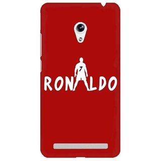 The Fappy Store  Ronaldo Hard Plastic Back Case Cover For Asus Zenfone 5