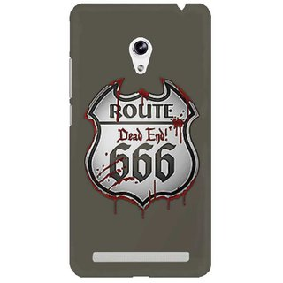 The Fappy Store  Route-666 Hard Plastic Back Case Cover For Asus Zenfone 5