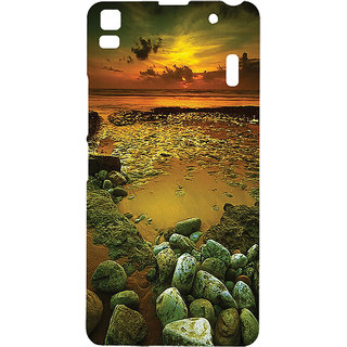 Casesia Mobile Back Cover For 11151Lenovoa7000