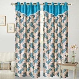 Modern Fancy Door Curtains (Set Of 2)