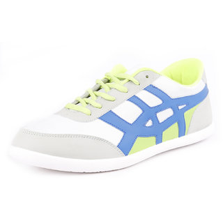 Globalite Mens Blue,White Lace-up