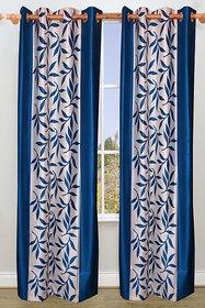 Vrinda Khoobsurat Leave Printed Door Curtain