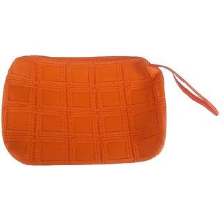 Viva Fashions Multipurpose Cosmetic/accessories bag/Jewellery Pouch  Orange