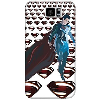 The Fappy Store Superman-Logo Hard Plastic Back Case Cover For Samsung Galaxy S6