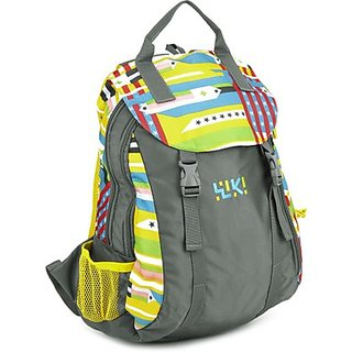 Wiki Whirl Backpack Grey Bag