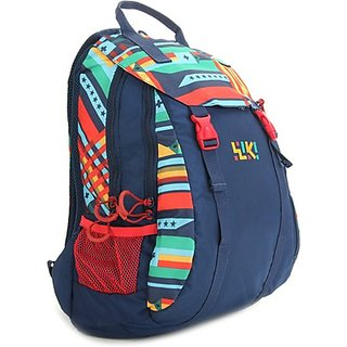 Wiki Whirl Backpack Blue Bag