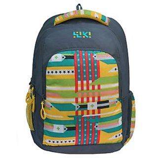 Wiki Twist Backpack Grey Bag