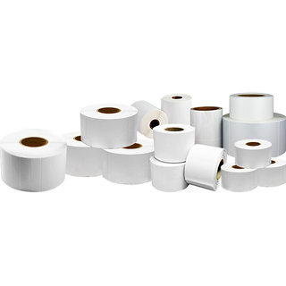 Barcode Paper Label 50mm x 25mm - pack of 3500 labels