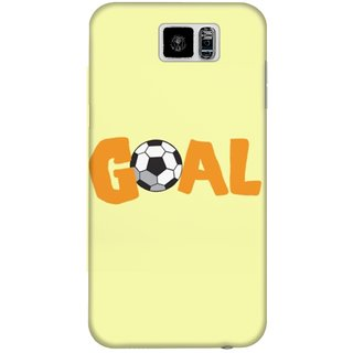 The Fappy Store Goal-With-Soccer Plastic Back Case Cover For Samsung Galaxy S6