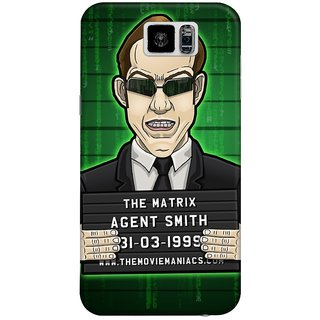 The Fappy Store The-Matrix Hard Plastic Back Case Cover For Samsung Galaxy S6