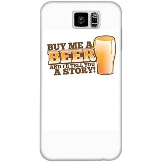 The Fappy Store Buy-Me-A-Beer Hard Plastic Back Case Cover For Samsung Galaxy S6
