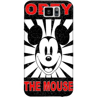 The Fappy Store Obey Mouse Hard Plastic Back Case Cover For Samsung Galaxy S6
