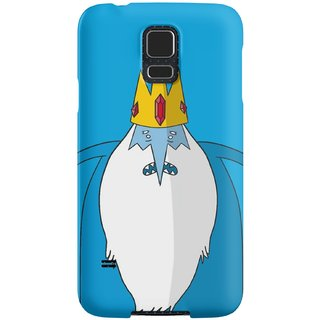The Fappy Store Ice-King Plastic Back Case Cover For Samsung Galaxy S5
