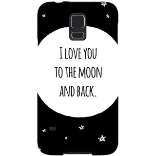 The Fappy Store To-The-Moon Hard Plastic Back Case Cover For Samsung Galaxy S5