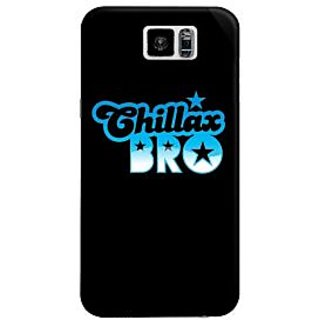 The Fappy Store Chillax-Bro Hard Plastic Back Case Cover For Samsung Galaxy S6