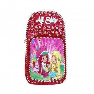 Akash Ganga Red School Bag for Kids (SB71)