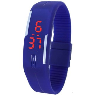 blue band watch for men's