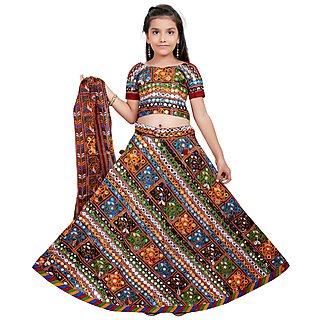 Girls Fancy Ghagra Choli (WFGCDG1-01-1398)